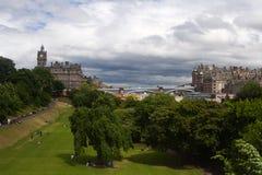 Un paesaggio di Edinburgh, Scottland immagini stock