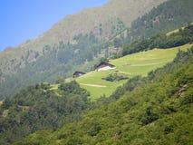 un paesaggio nelle alpi bavaresi Immagine Stock Libera da Diritti