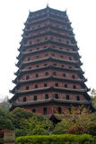 Un pagoda Fotografia Stock