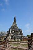 Un Pagoda a Wat Phra Sri Sanphet Immagini Stock Libere da Diritti