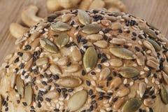 Un pain de blé entier Photo libre de droits