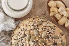 Un pain de blé entier Image stock