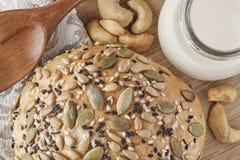 Un pain de blé entier Photos libres de droits