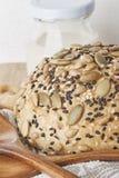 Un pain de blé entier Photographie stock libre de droits