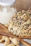 Un pain de blé entier Photos stock