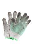 Un paio dei guanti lacerati Immagine Stock