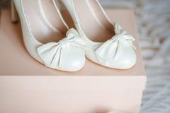 Un paio delle scarpe fotografia stock libera da diritti