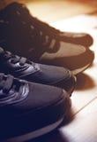 Un paio delle scarpe maschii e femminili Immagini Stock Libere da Diritti