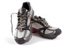 Un paio di scarpe Fotografia Stock