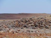 Un paisaje australiano del sur Foto de archivo libre de regalías
