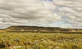 Un paisaje de un valle Imagen de archivo libre de regalías
