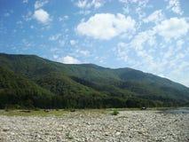 Un paisaje del verano Imagenes de archivo