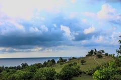 Un paisaje hermoso en un cierto lugar Imagen de archivo
