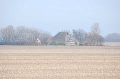 Un paisaje holandés Fotografía de archivo