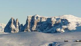 un paisaje maravilloso en las altas montañas fotografía de archivo libre de regalías