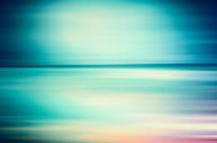 Un paisaje marino abstracto del mar Imagen de archivo libre de regalías