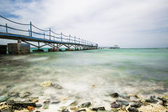 Un paisaje marino maravilloso, vistas del mar y la playa Fotografía de archivo libre de regalías