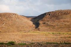 Un paisaje rocoso Fotografía de archivo libre de regalías