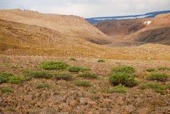 Un paisaje rocoso Imágenes de archivo libres de regalías