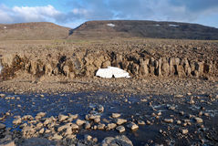 Un paisaje rocoso Imagenes de archivo