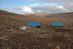 Un paisaje rocoso Imagen de archivo libre de regalías