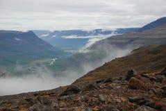 Un paisaje rocoso Foto de archivo libre de regalías