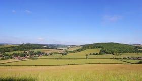 Un paisaje rural inglés Imagenes de archivo