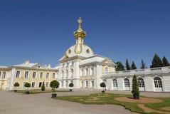 Un palacio en Rusia Fotografía de archivo libre de regalías