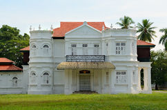 Un palazzo coloniale Immagini Stock
