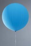 Un pallone blu per i partiti Fotografia Stock