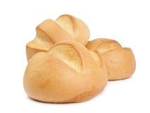 Un pan del pan en un fondo blanco Foto de archivo