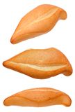 Un pan en diversas opiniones de ángulo Imagen de archivo libre de regalías
