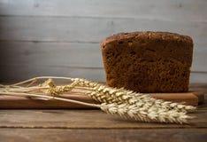 Un pane con le spighette Immagine Stock Libera da Diritti