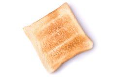 Un pane tostato degli isolati del pane Immagine Stock