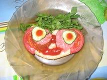 Un panino Immagine Stock