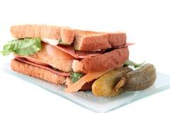 Un panino di BLT Fotografia Stock