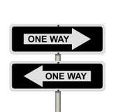 Confus sur quelle direction pour aller Image libre de droits