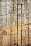 Un panneau de vieille couleur en bois de doublure comme fond Image stock