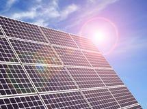 Un panneau solaire Image libre de droits