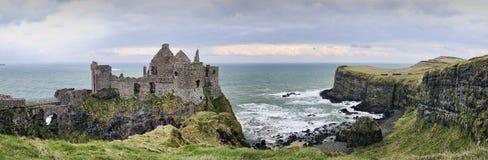 Castillo de Dunluce Fotos de archivo libres de regalías