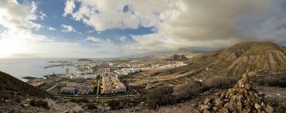 Panorama di Tenerife Fotografie Stock