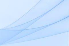Un papier peint bleu avec les vagues bleues Photos libres de droits