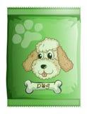 Un paquet d'aliments pour chiens Images libres de droits