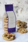 Un paquete de galletas de la variedad Foto de archivo libre de regalías