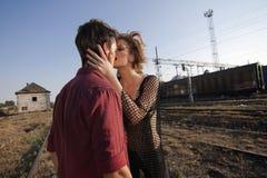 Sobre para besarse Imagen de archivo