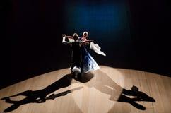 Un par del baile Imágenes de archivo libres de regalías