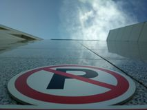 Un parcheggio verticale Fotografia Stock Libera da Diritti