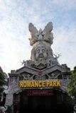 Un parco romantico in Cina immagine stock