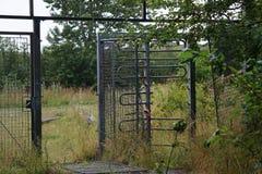 Un parque de atracciones abandonado Imagenes de archivo