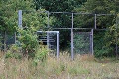 Un parque de atracciones abandonado Fotografía de archivo